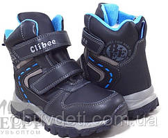 Зимние ботинки для мальчиков Clibee 32р. по стельке 20,7см