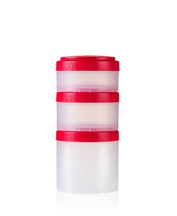 Контейнер спортивный BlenderBottle Expansion Pak Clear/Red (ORIGINAL), фото 2
