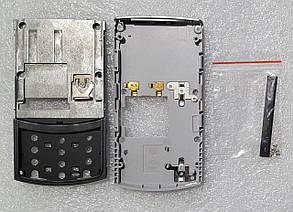 Корпус для Nokia N80 black-silver, фото 2