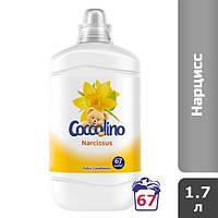 Coccolino Нарцисс ополаскиватель для белья (67 стирок), 1.7 л