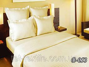 Постельное белье ТЕТ Страйп Gold Delux шампань (двухспальное)