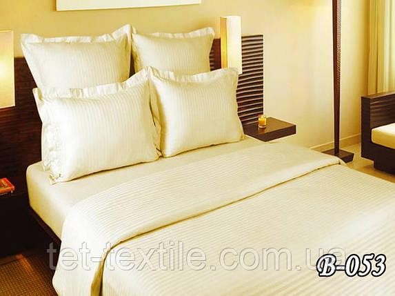 Постельное белье ТЕТ Страйп Gold Delux шампань (двухспальное), фото 2