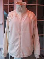 (50р) Флисовый свитер куртка толстовка на подкладке
