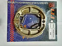 Колодки тормозные передние, задние (барабанный тормоз) Suzuki Sepia/ Suzuki Address 50 (SEE SHENG-E)