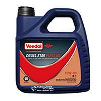 Масло моторное VEEDOL Diesel Star Fleet 15W-40 4 литра минеральное (без сажевого фильтра)
