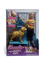 Кукла с беременной собачкой Bannier Newborn Pups