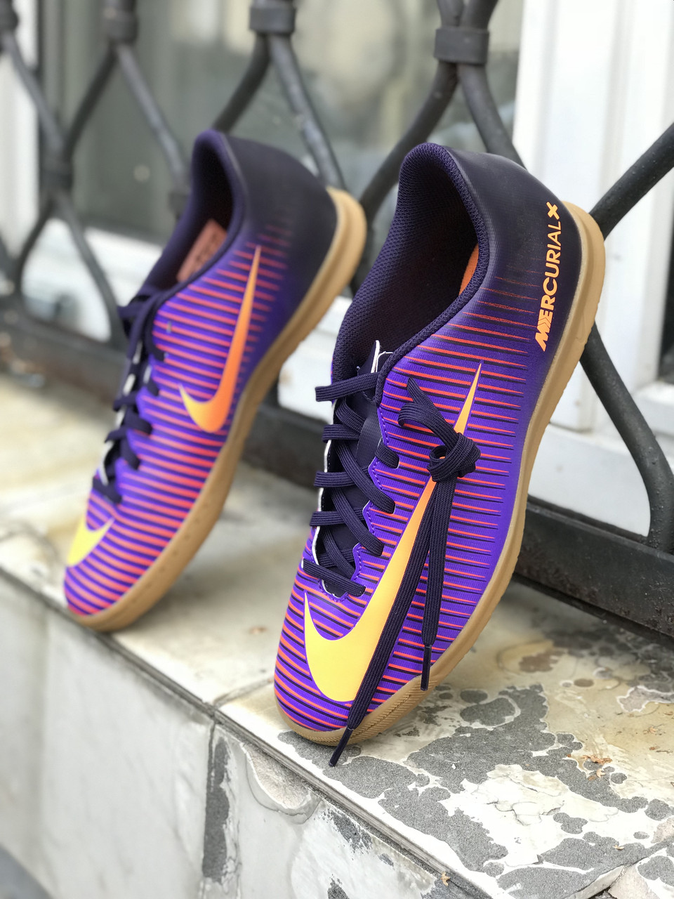 Футзалки Nike MERCURIALX VORTEX III IC 831970-585 (Оригинал)