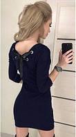 Короткое платье с вырезом на спине 023/07, фото 1