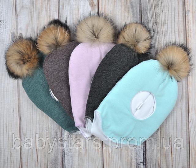 шапочка шлем для новорожденного
