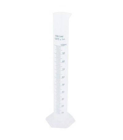 Циліндр мірний на пластмасовій основі, з носиком 25 мл, поліпропілен, фото 2