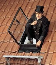 Мансардные окна для выхода на крышу