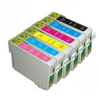 Комплект оригинальных картриджей Epson T0811 - T0816
