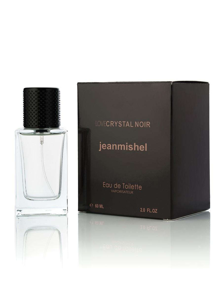 60 мл Мини-парфюм Jeanmishel Love Crystal Noir (ж) 72 кубик