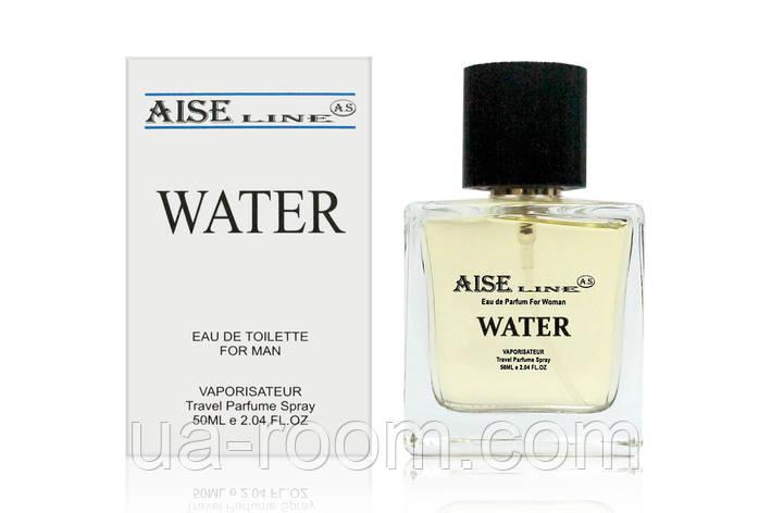 "Мужской, Парфюмированный спрей Aise Line ""Water"" (аналог Giorgio Armani Acqua di Gio), 50 мл., фото 2"