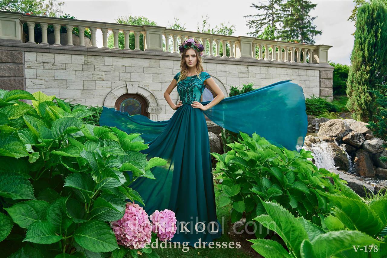 Вечернее, выпускное платье V-178