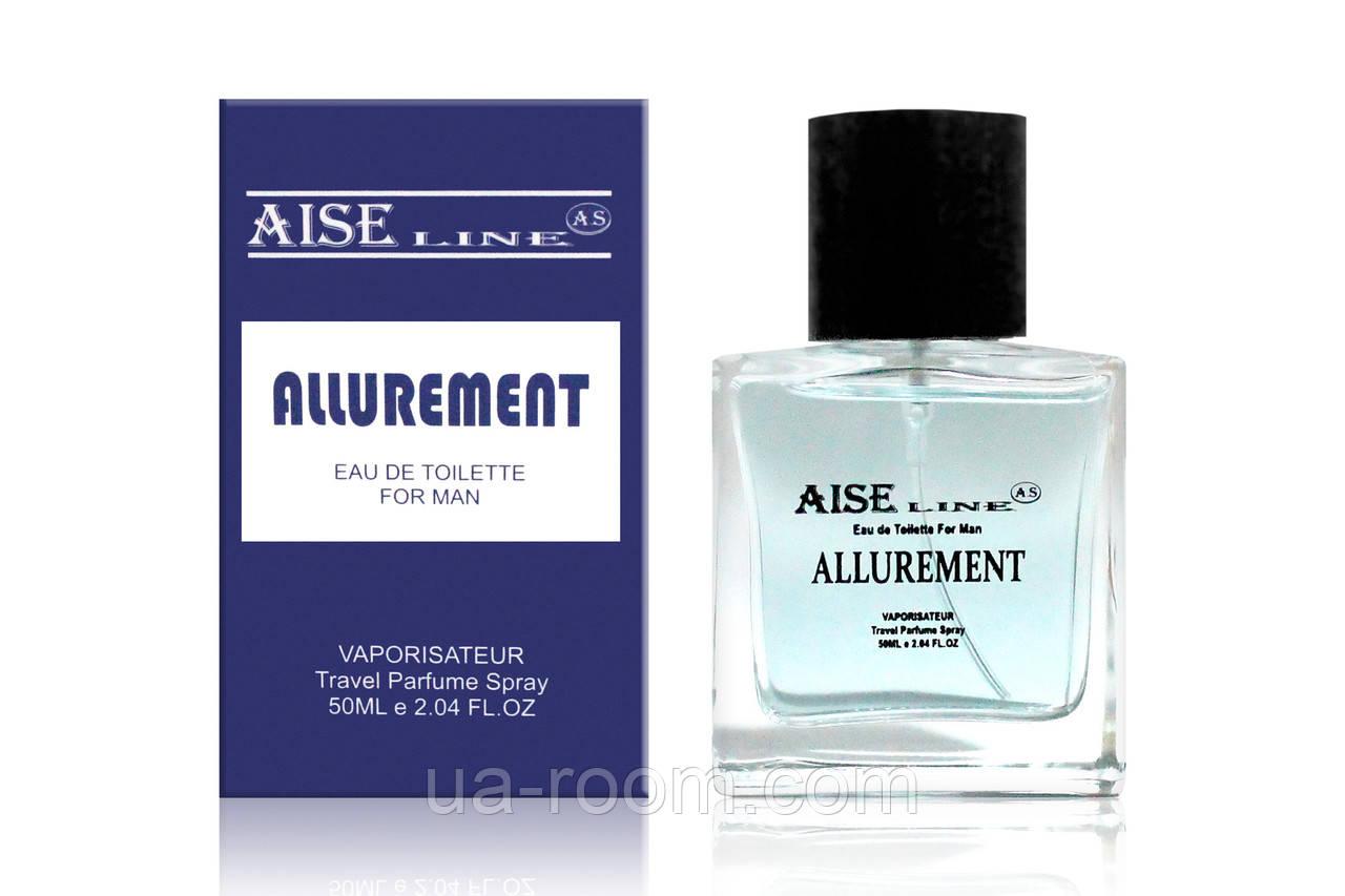 """Парфюмированный спрей Aise Line """"Allurement"""" (Antonio Banderos Blue Sedaction), 50 мл. БЕЗ СЛЮДЫ"""