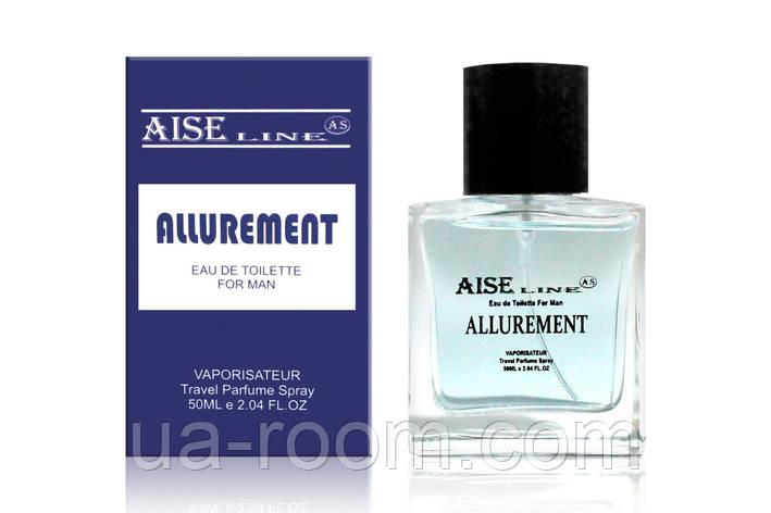"""Парфюмированный спрей Aise Line """"Allurement"""" (Antonio Banderos Blue Sedaction), 50 мл. БЕЗ СЛЮДЫ, фото 2"""
