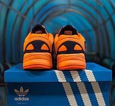 Мужские осенние кроссовки Adidas Yung 1 Orange топ реплика, фото 3
