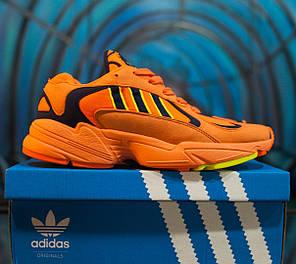 Мужские осенние кроссовки Adidas Yung 1 Orange топ реплика, фото 2