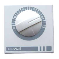 Регулятор температуры комнатный механический CEWAL RQ-01