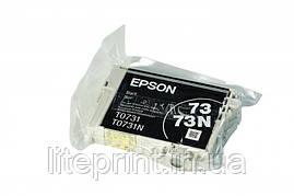 Оригинальный картридж Epson T0731, Black
