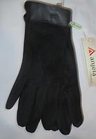 Перчатки женские замш, фото 1