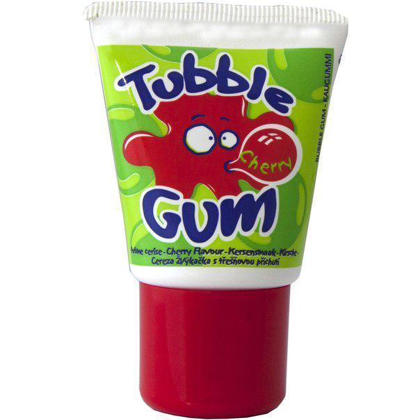 Жвачка в тюбике Tubble Gum Вишня