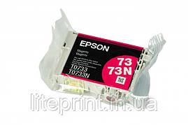 Оригинальный картридж Epson T0733, Magenta