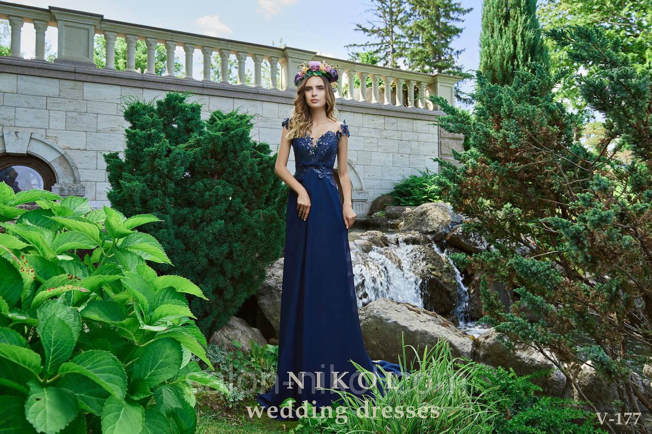 Вечернее, выпускное платье V-177