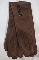 Перчатки женские зима ( замш, мех ), фото 1