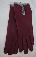 Перчатки женские зима ( трикотаж, мех ), фото 1