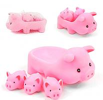 Детская Игрушка для ванной ZT8891 Уточка, пищалка (Свинки)