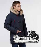 Braggart Arctic 38230 | Парка теплая зимняя синий-красный
