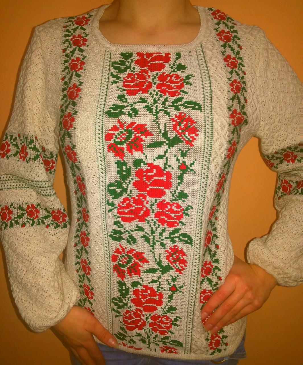 57143ae838332f Вишиванка жіноча Катерина - Інтернет-магазин вишиванок з льону від Луцького  виробника