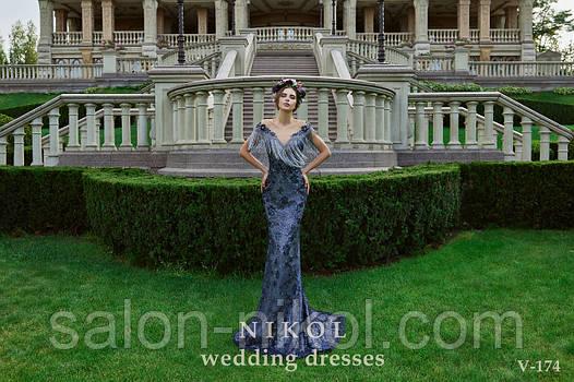 Вечернее, выпускное платье V-174