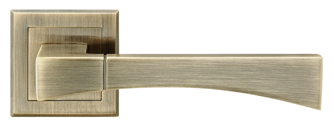 Ручка дверная на розетке MVM Tia - Z-1257 AB (античная бронза)