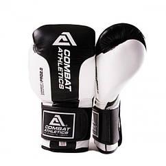 Боксерські рукавички Tatami Combat Athletics Pro Series 2.0 Чорні з білим