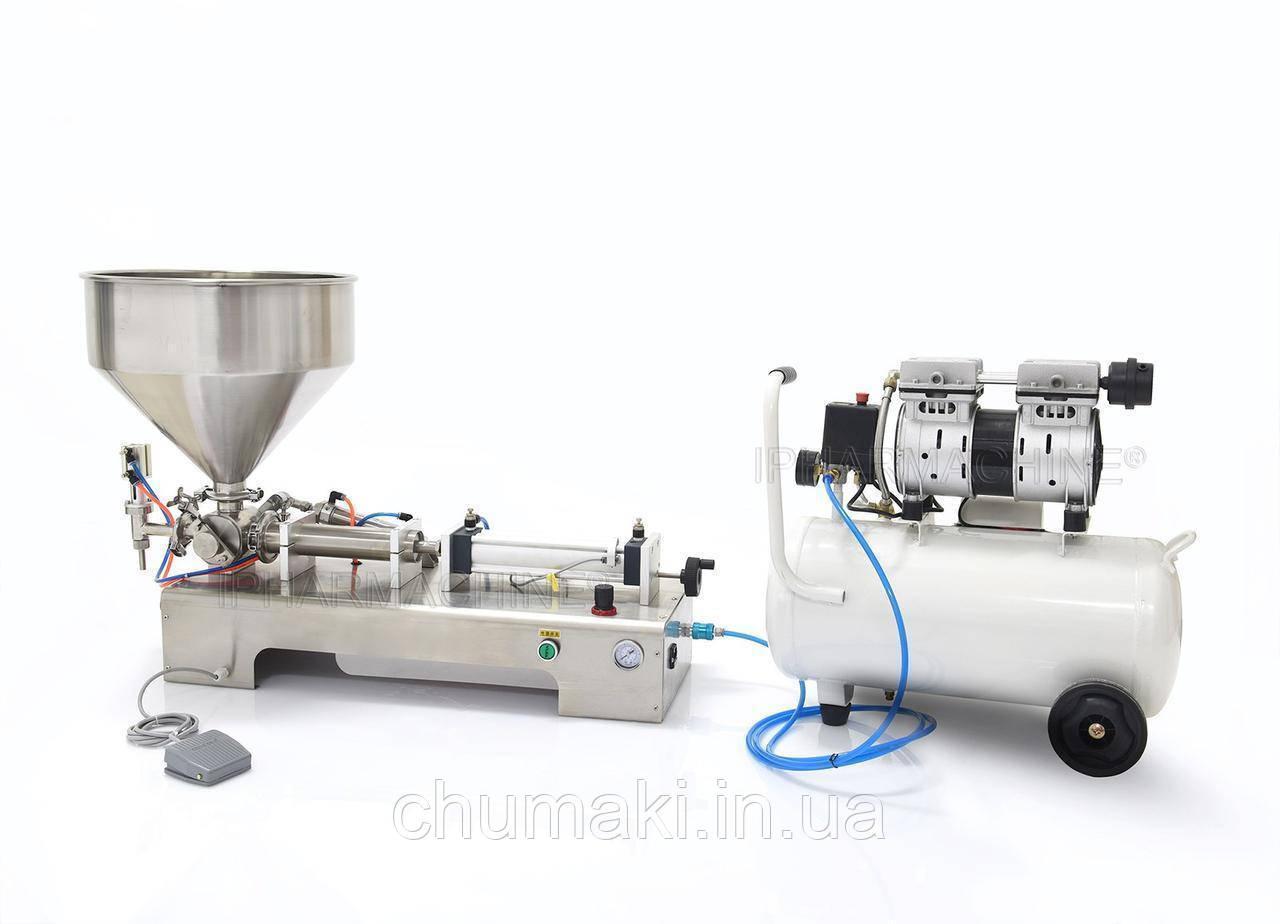 Разливочная машина для вязких, густых жидкостей R-1V-1000