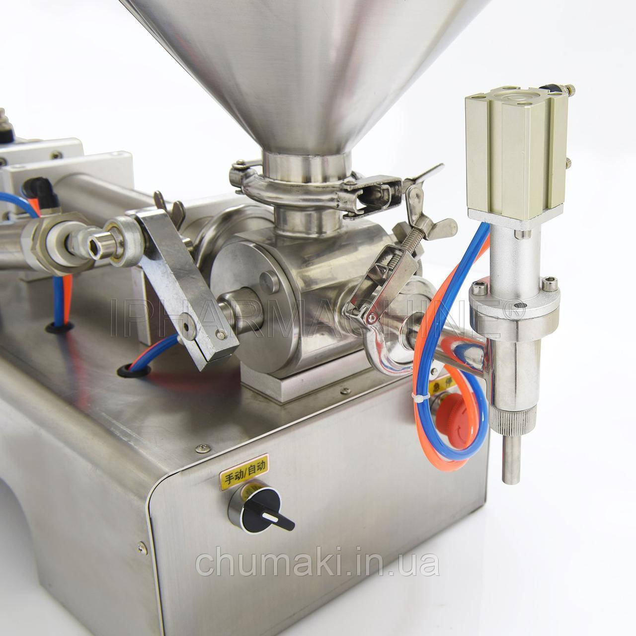 Разливочная машина для вязких, густых жидкостей R-1V-500