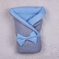 Зимний конверт-одеяло Mini (голубой)