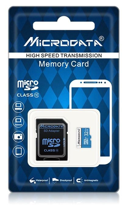 Карта памяти на 32GB Class 10+подарок SD адаптер