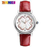 Женские классические часы SKMEI 9159 красные, фото 1