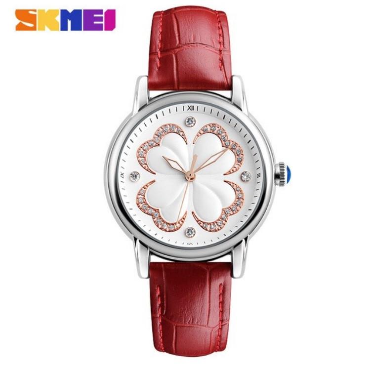 Женские классические часы SKMEI 9159 красные