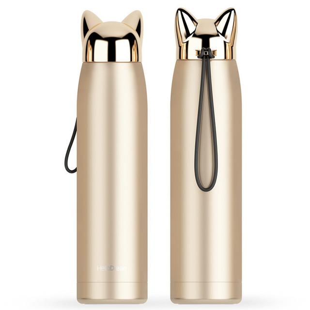 Оригинальный термос Flash Fox шампань