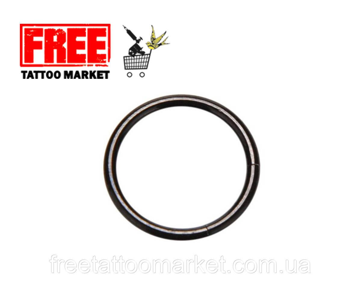 Кольцо сегментное черное (диаметр 10мм)