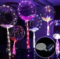 Прозрачный светящийся воздушный шар, фото 1
