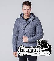 Braggart 1386 | Мужская ветровка серая