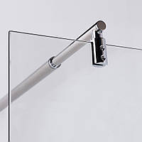 Держатель стекла к стене, регулируемый 75-120 см