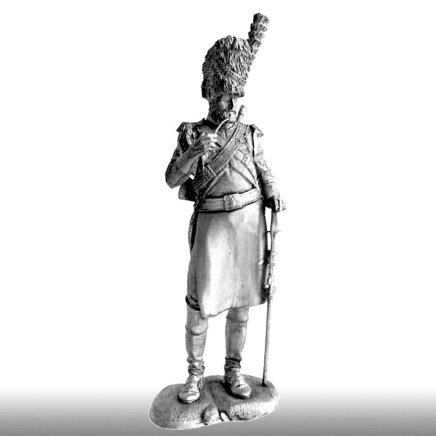 Сапер гвардейских драгун, 1812 год