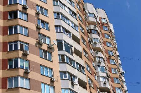 Балкон в серии дома новостройка